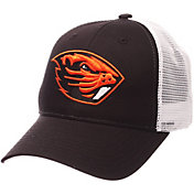 Zephyr Men's Oregon State Beavers Black/White Big Rig Adjustable Hat