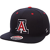 Zephyr Men's Arizona Wildcats Navy Z-Wool Z11 Snapback Hat