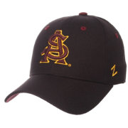 Zephyr Men's Arizona State Sun Devils Black DH Fitted Hat