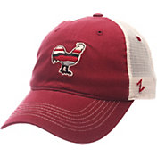 Zephyr Men's South Carolina Gamecocks Garnet/Cream Contour Trucker Snapback Hat