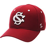 Zephyr Men's South Carolina Gamecocks Garnet DH Fitted Hat