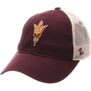 Zephyr Men's Arizona State Sun Devils Maroon/White University Adjustable Hat
