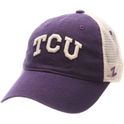 Zephyr Men's TCU Horned Frogs Purple/White University Adjustable Hat