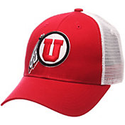 Zephyr Men's Utah Utes Crimson/White Big Rig Adjustable Hat