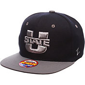 Zephyr Youth Utah State Aggies Grey/Blue Z11 Adjustable Hat