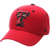 Zephyr Men's Texas Tech Red Raiders Red DH Fitted Hat