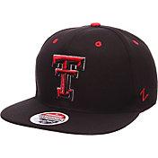 Zephyr Men's Texas Tech Red Raiders Black Z-Wool Z11 Snapback Hat