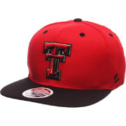 Zephyr Men's Texas Tech Red Raiders Red/Black Z-Wool Z11 Snapback Hat