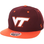 Zephyr Men's Virginia Tech Hokies Maroon/Burnt Orange Z-Wool Z11 Snapback Hat