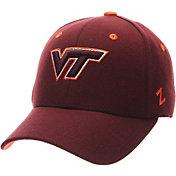 Zephyr Men's Virginia Tech Hokies Maroon DH Fitted Hat