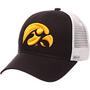 Zephyr Men's Iowa Hawkeyes Black/White Big Rig Adjustable Hat