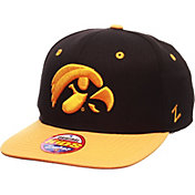 Zephyr Youth Iowa Hawkeyes Black/Gold Z11 Adjustable Hat
