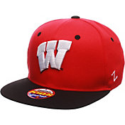 Zephyr Youth Wisconsin Badgers Red/Black Z11 Adjustable Hat