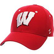 Zephyr Men's Wisconsin Badgers Red ZH ZClassic Flexfit Hat