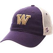 Zephyr Men's Washington Huskies Purple/Cream Mesh Trucker Snapback