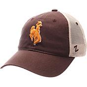 Zephyr Men's Wyoming Cowboys Brown/White University Adjustable Hat