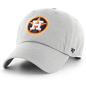'47 Men's Houston Astros Storm Clean Up Adjustable Hat