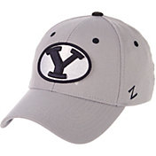 Zephyr Men's BYU Cougars Grey Wool Fitted Hat