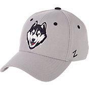 Zephyr Men's UConn Huskies Grey Wool Fitted Hat