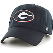 '47 Men's Georgia Bulldogs Clean Up Adjustable Black Hat