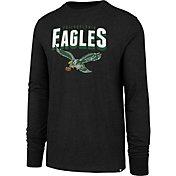 '47 Men's Philadelphia Eagles Legacy Club Long Sleeve Black Shirt