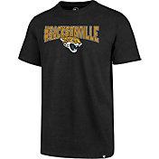 '47 Men's Jacksonville Jaguars Sacksonville Black T-Shirt
