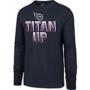 '47 Men's Tennessee Titans Titan Up Navy Long Sleeve Shirt