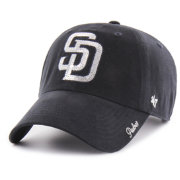 '47 Women's San Diego Padres Sparkle Clean Up Adjustable Hat