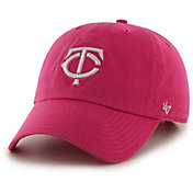 '47 Women's Minnesota Twins Clean Up Magenta Adjustable Hat