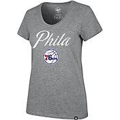 "'47 Women's Philadelphia 76ers ""Phila"" Scoop Neck T-Shirt"
