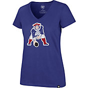 '47 Women's New England Patriots Legacy Royal V-Neck T-Shirt