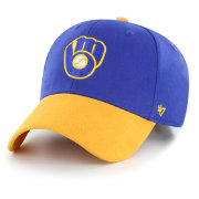 '47 Youth Milwaukee Brewers Short Stack MVP Adjustable Hat