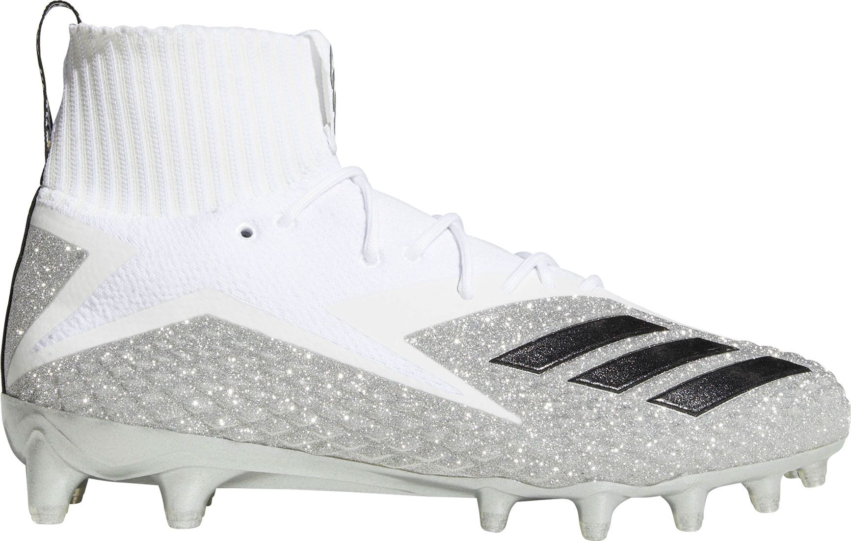 adidas football cleats all white