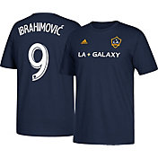 adidas Men's Los Angeles Galaxy Zlatan Ibrahimovic #9 Navy Player T-Shirt
