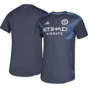 adidas Men's New York City FC Secondary Authentic Jersey
