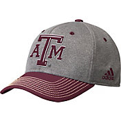 adidas Men's Texas A&M Aggies Grey/Maroon  Structured Adjustable Hat