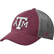 adidas Men's Texas A&M Aggies Maroon Mesh Back Structured Flex Hat
