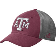 adidas Men's Texas A&M Aggies Maroon Mesh Back Structured Flex Hat
