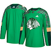 adidas Men's 2018 St. Patrick's Day Chicago Blackhawks Authentic Pro Jersey