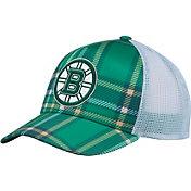 adidas Men's 2018 St. Patrick's Day Boston Bruins Structured Green Adjustable Hat