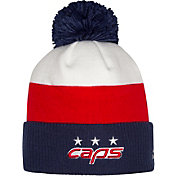 adidas Men's 2018 Stadium Series Washington Capitals Player Cuffed Knit Beanie