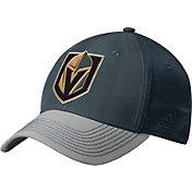 adidas Men's Vegas Golden Knights Structured Black Flex Hat