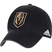 adidas Men's Vegas Golden Knights Black Unstructured Adjustable Hat