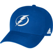 adidas Men's Tampa Bay Lightning Primary Logo Structured Royal Adjustable Hat