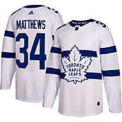 adidas Men's 2018 Stadium Series Toronto Maple Leafs Auston Matthews #34 Authentic Pro Jersey