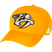 adidas Men's Nashville Predators Smashville Structured Gold Adjustable Hat