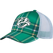 adidas Men's 2018 St. Patrick's Day Nashville Predators Structured Green Adjustable Hat