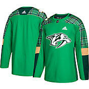 adidas Men's 2018 St. Patrick's Day Nashville Predators Authentic Pro Jersey