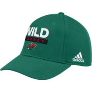 adidas Men's Minneosta Wild Locker Room Green Hat