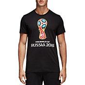 adidas Men's 2018 FIFA World Cup Event Logo Black T-Shirt